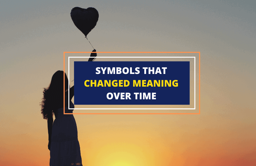 Symbols that changed meaning over time