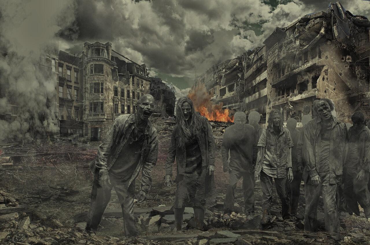 Zombie depiction