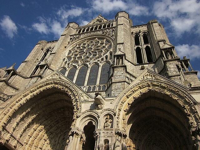 Christian gothic church