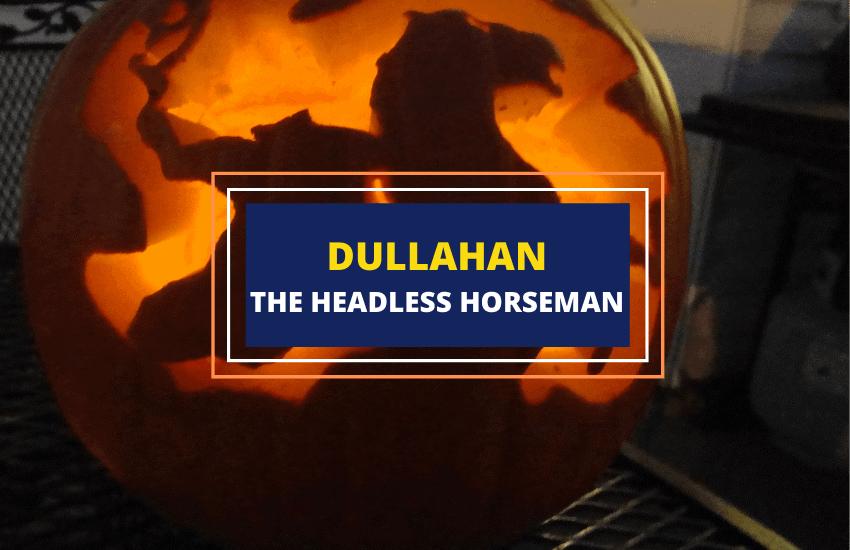 Dullahan Irish headless horseman