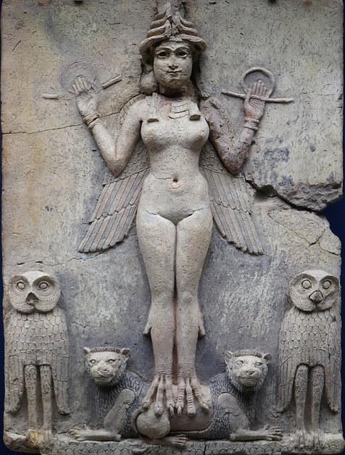 Lilith Sumerian symbol
