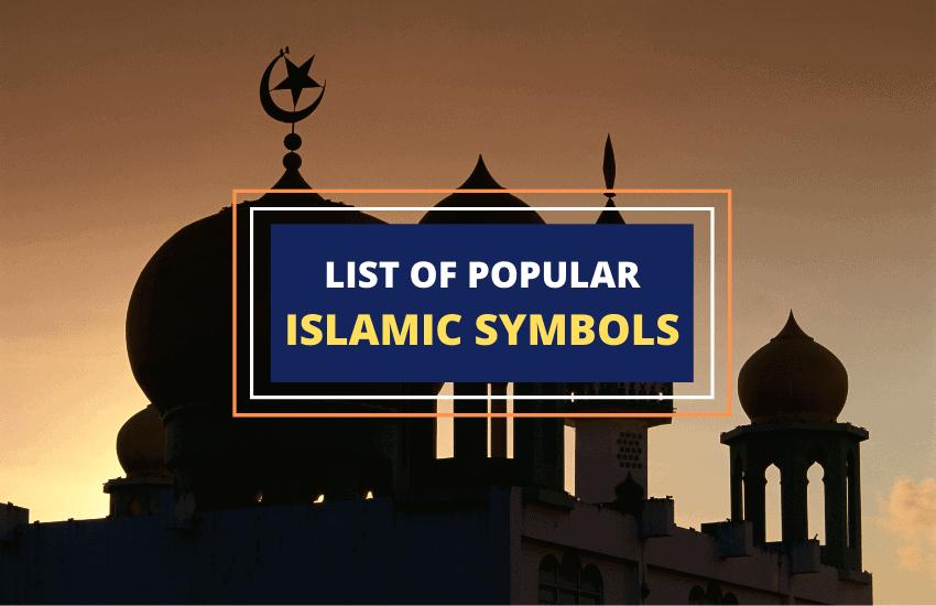 Islamic symbols list