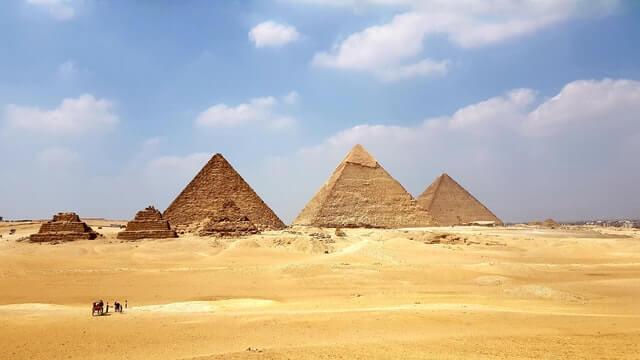 Pyramids geometry