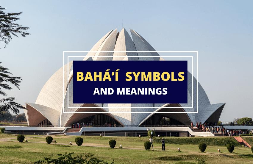 Bahai symbols list