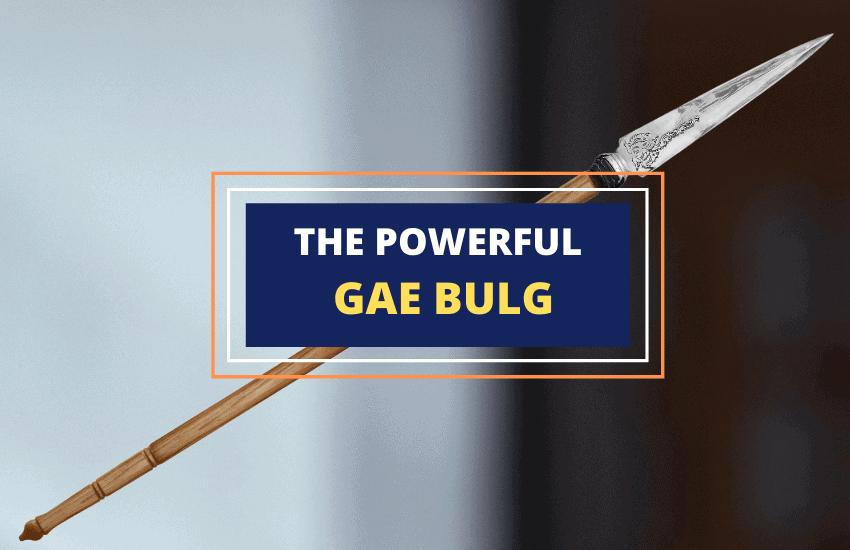 gae bulg Irish mythical spear