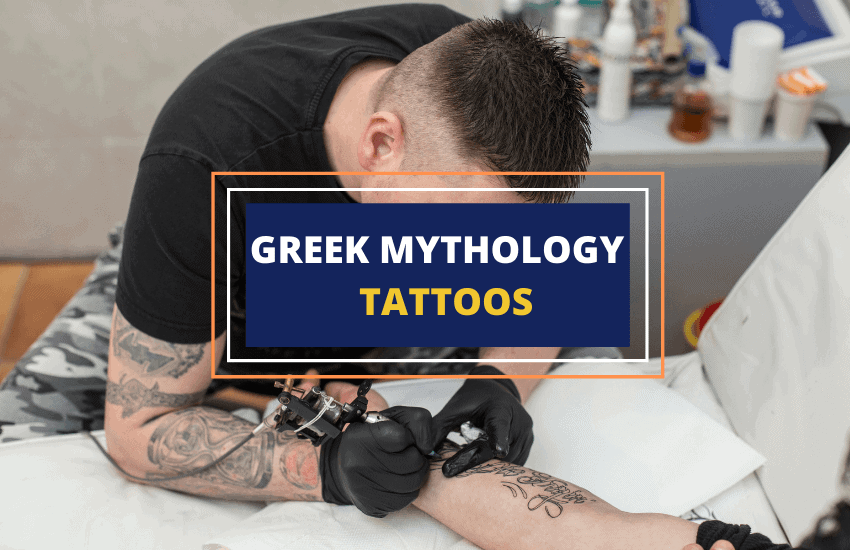 Greek mythology tattoos ideas