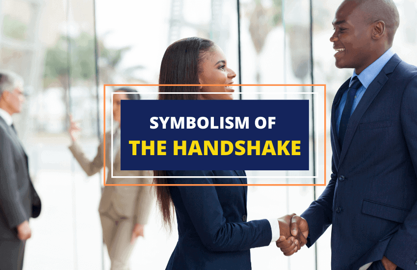 Handshake symbolism and meaning