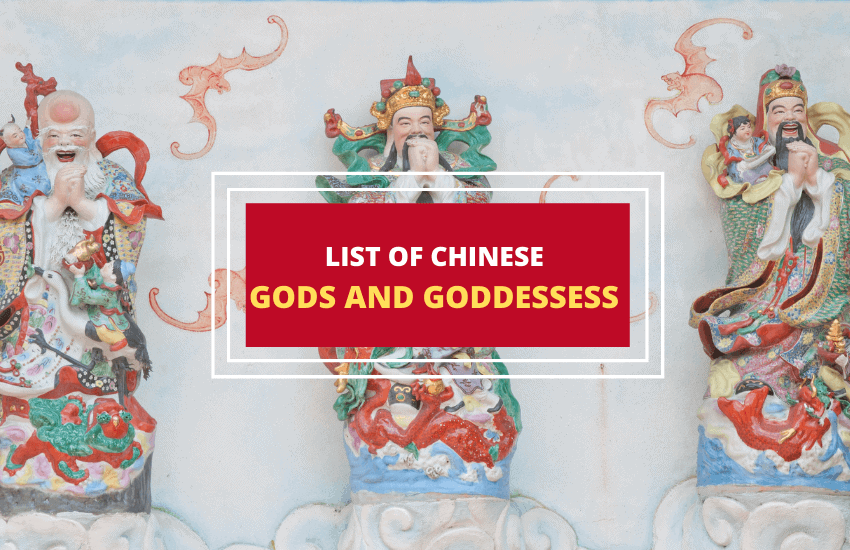 List of Chinese gods and goddesses