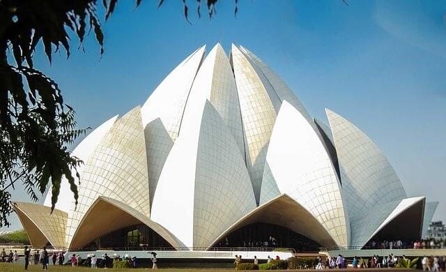 Lotus temple Bahai