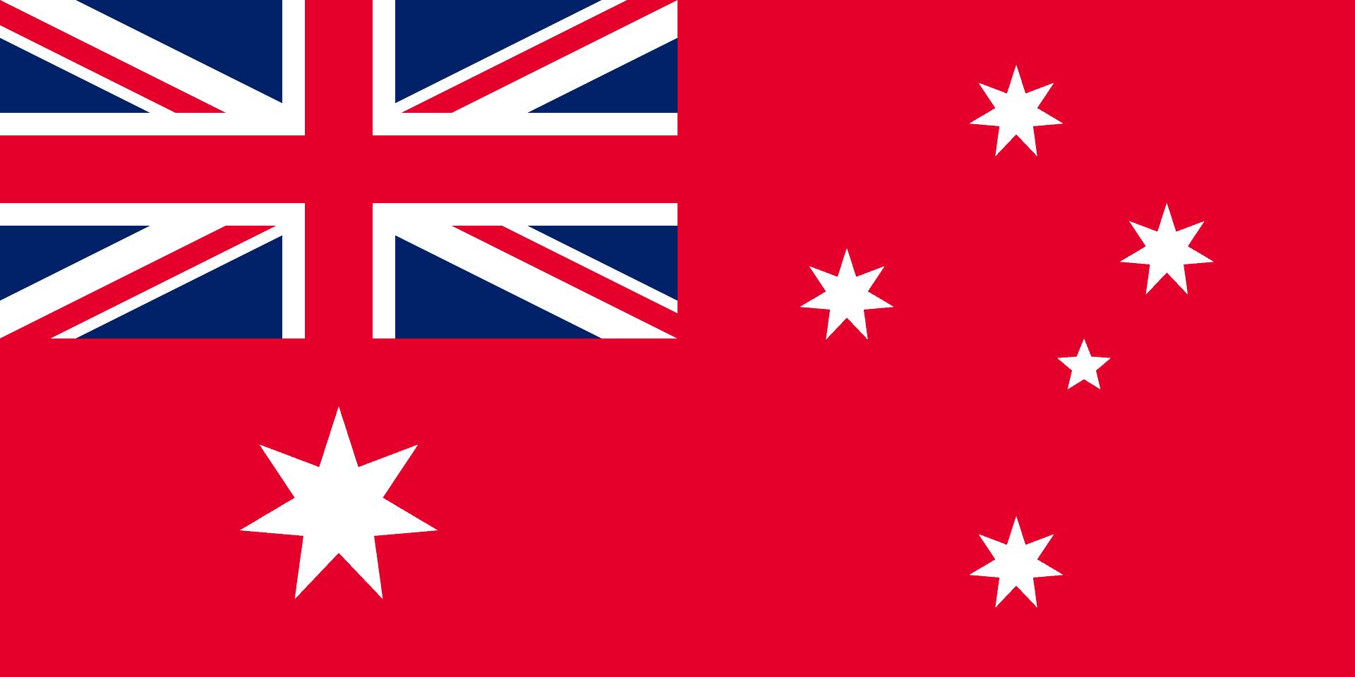 Red ensign Australian flag
