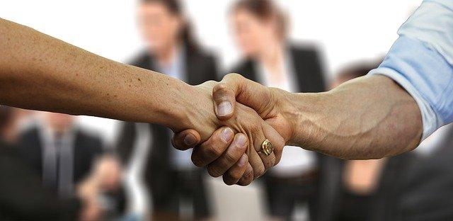 Types of handshakes