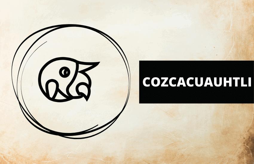Cozcacuauhtli Aztec symbol meaning