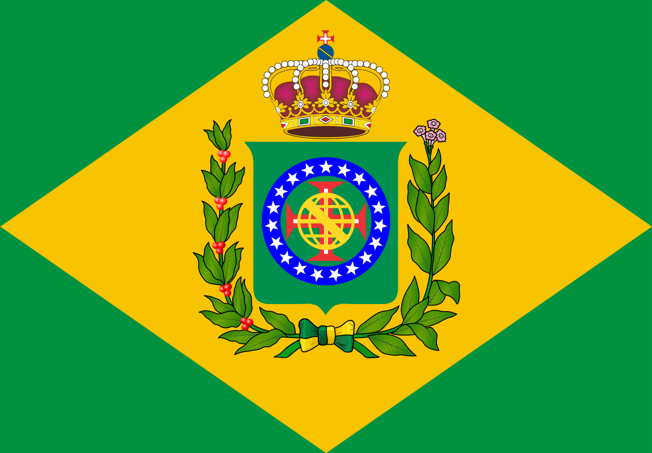 Flag Regent Prince of Brazil