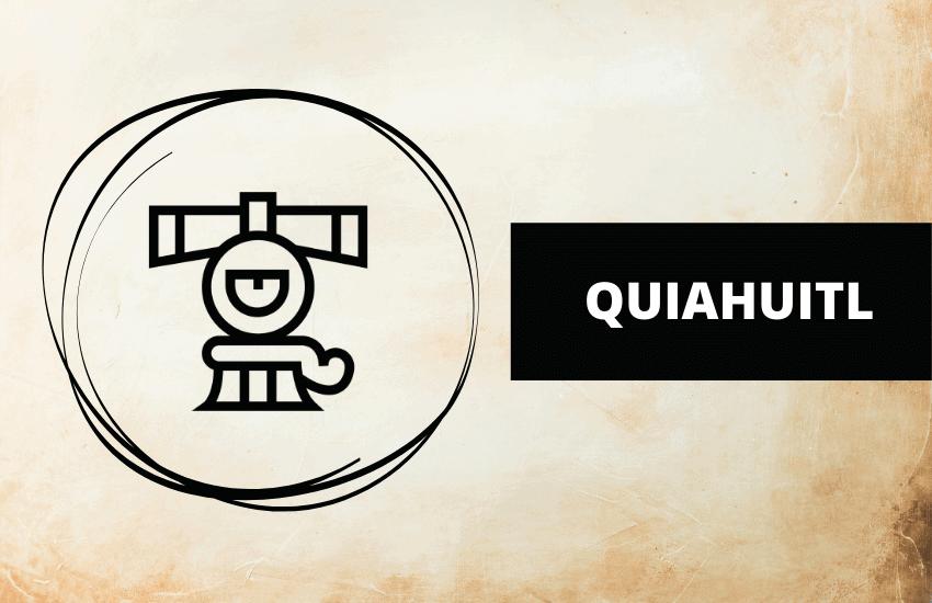 Quiahuitl Aztec symbol meaning