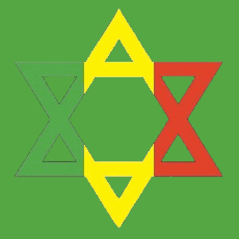 Rastafarian Star of David