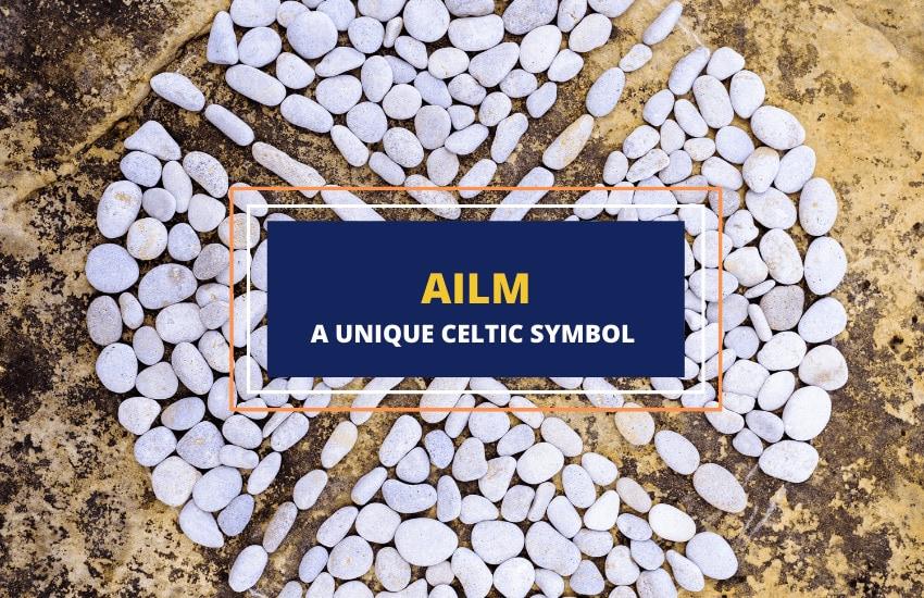 Ailm meaning symbolism Celtic