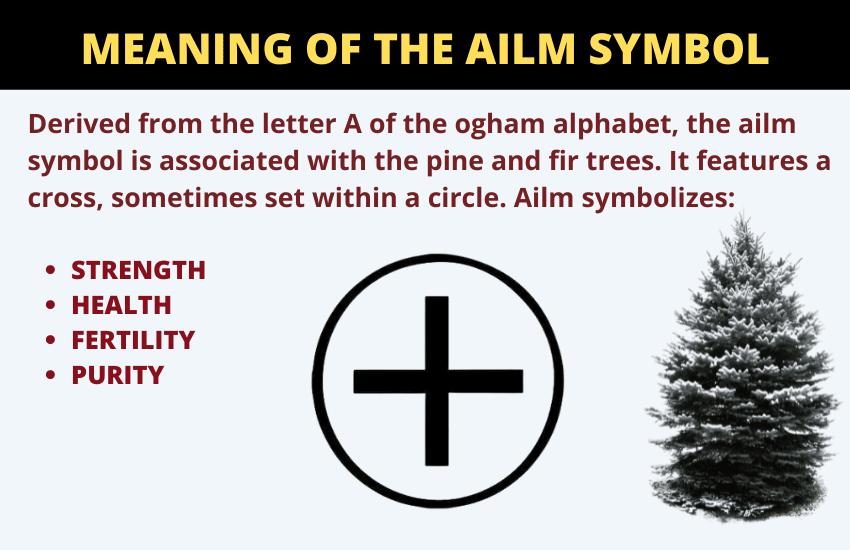 Ailm symbolism