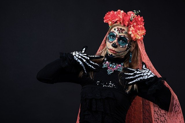 Angel of death Santa Muerte