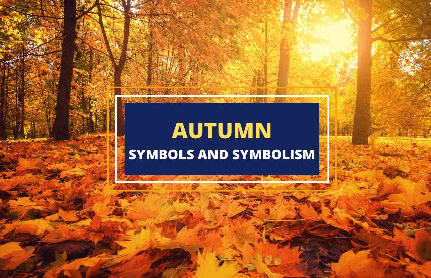 Autumn symbolism symbols