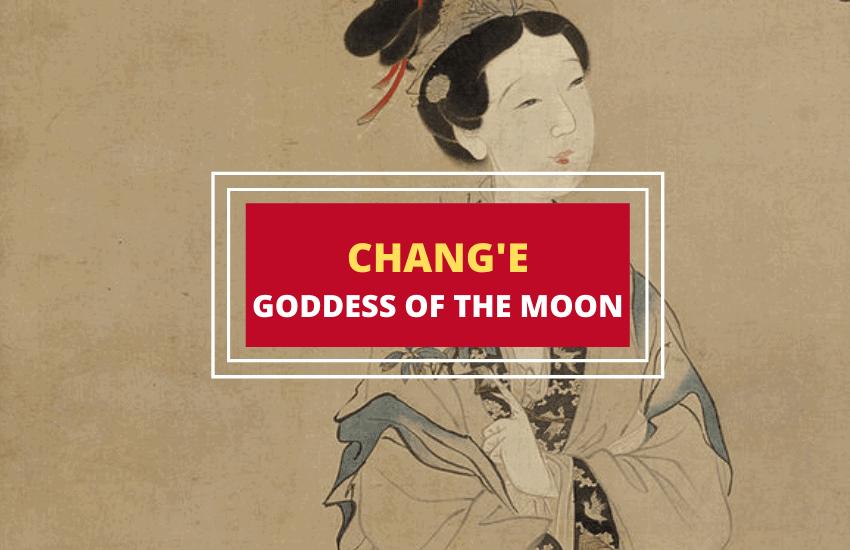 Change goddess of the moon