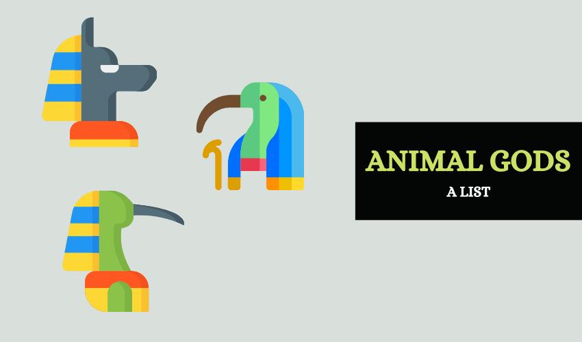 Egyptian animal gods