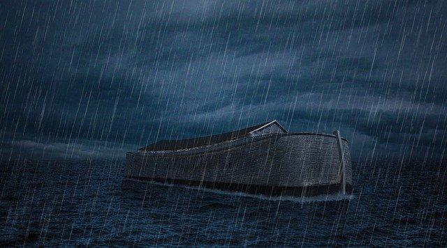 Endless rain flood myth