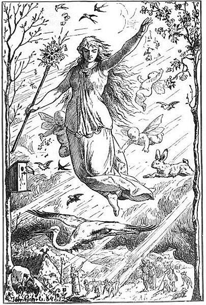 Eostre goddess