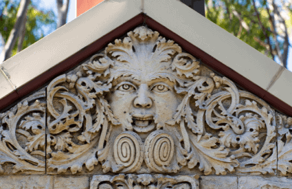 Example of green man