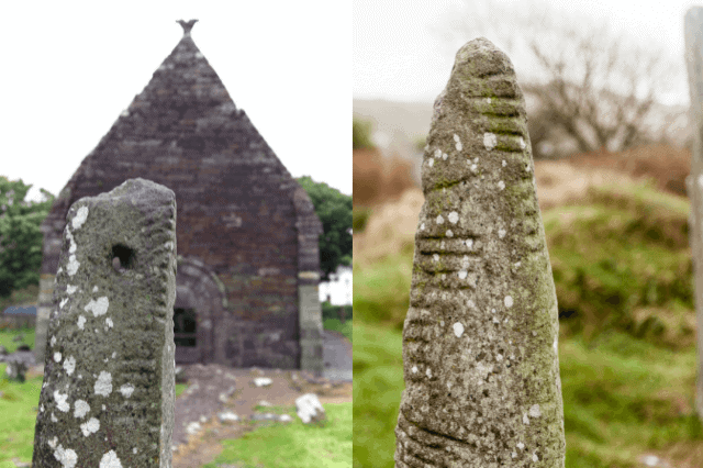 Examples of ogham stones