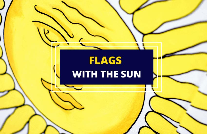 Flag with the sun list