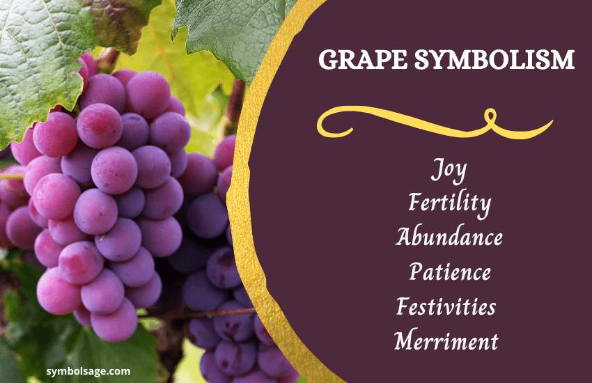 Grape symbolism