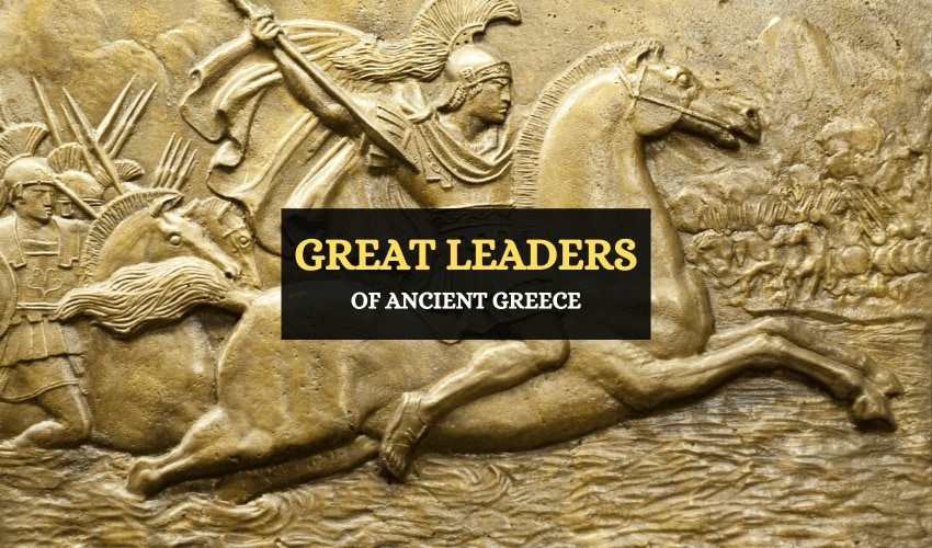 Great leaders of ancient Greece