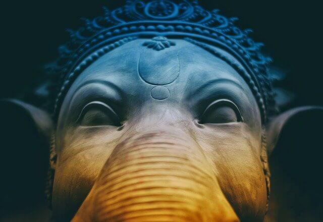 Hindu devas Ganesh
