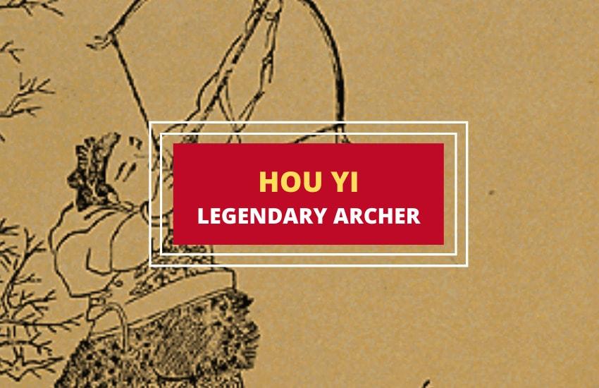 Hou Yi Chinese archer