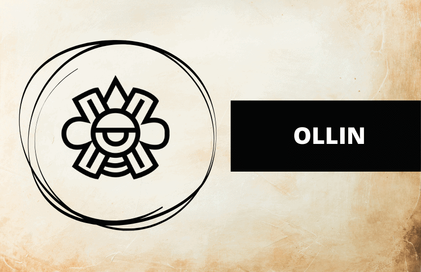 Ollin meaning symbolism Aztec