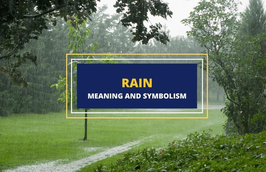 Rain symbolism meaning