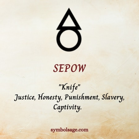Sepow symbol meaning