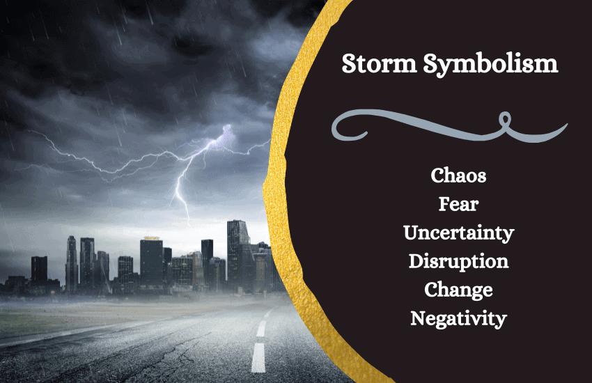 Storm symbolism
