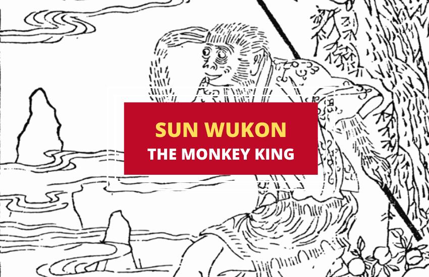 Sun Wukong monkey king Chinese mythology