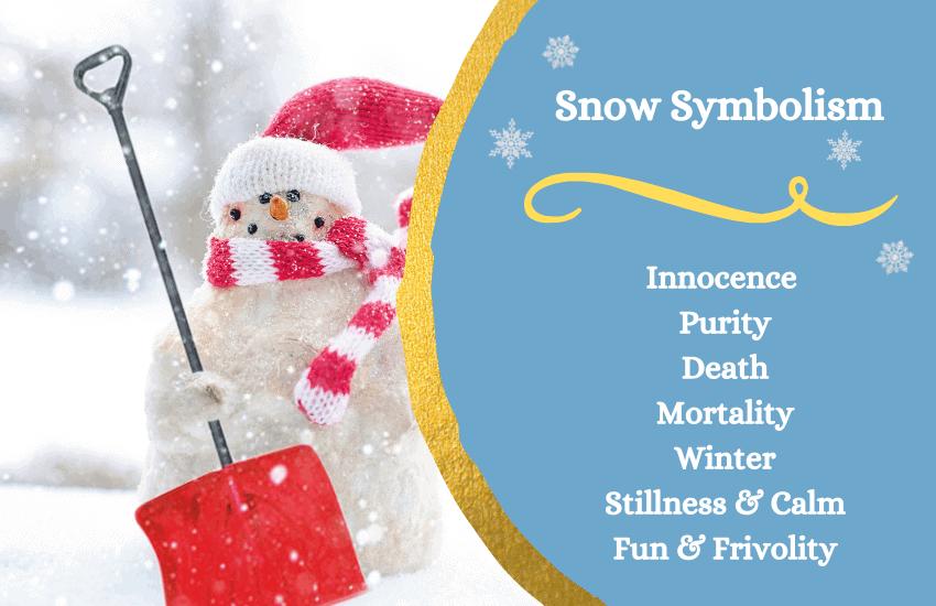 Symbolism of snow