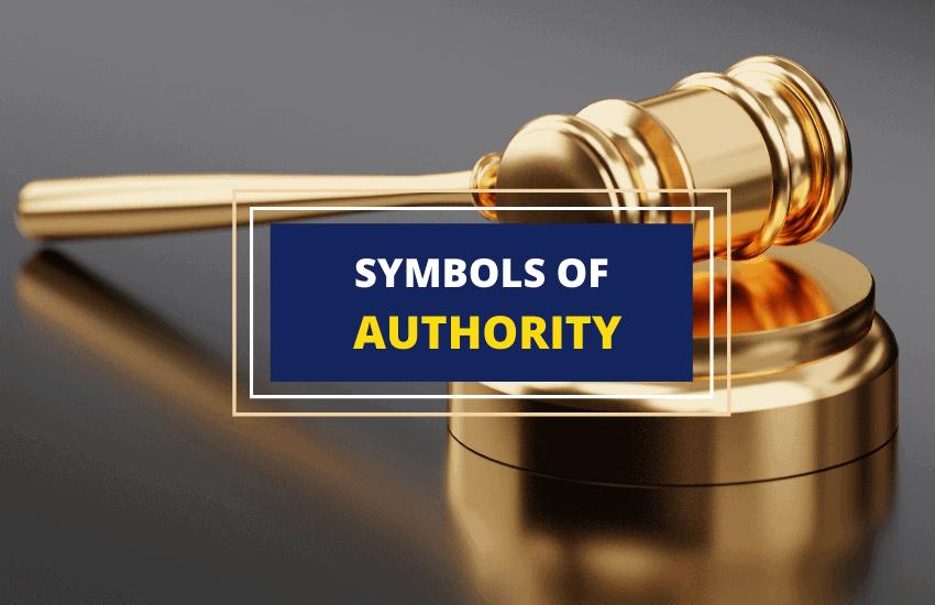Symbols of authority list