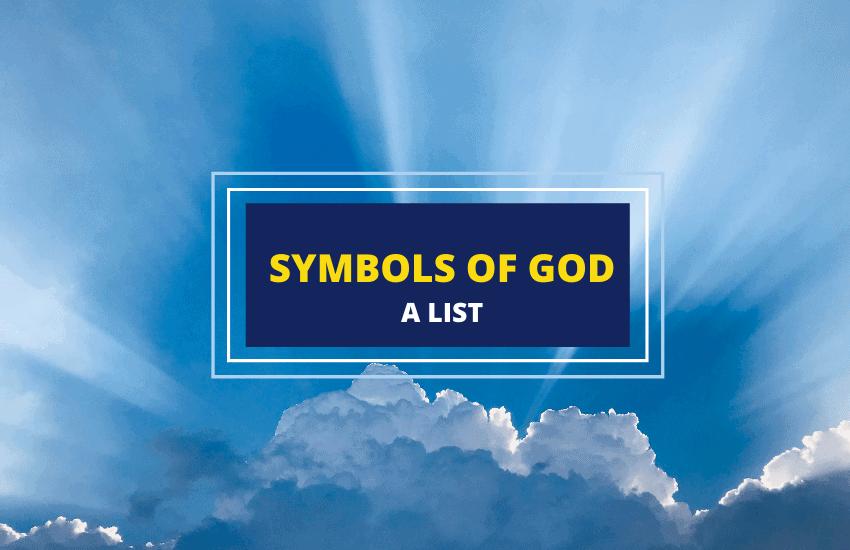 symbols of god-list