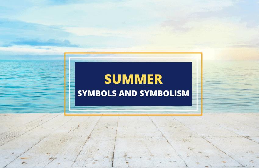 Symbols of summer