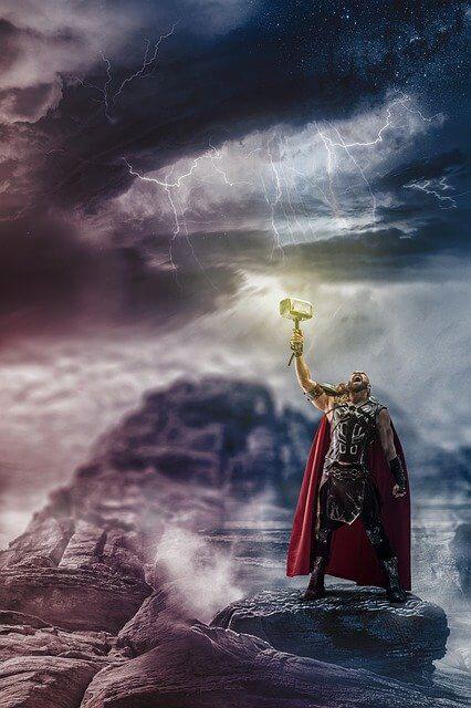 Thor storm symbolism