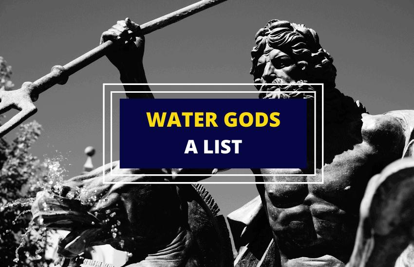 Water gods list