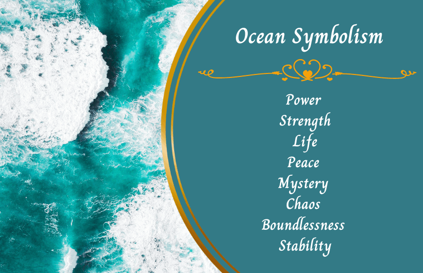 What does the ocean symbolize?