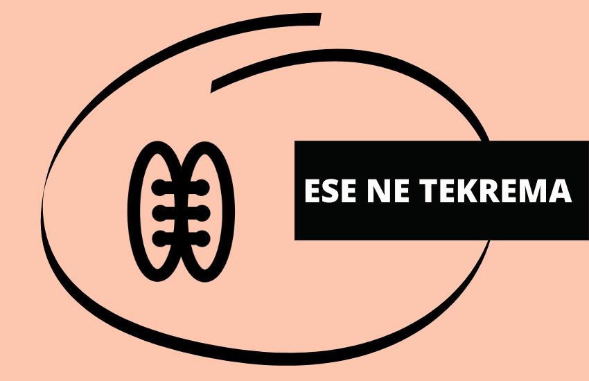 Ese ne Tekrema symbol