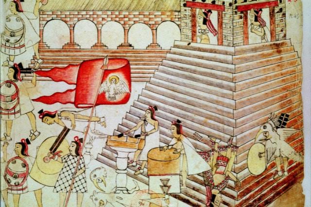 Tenochtitlan city Aztec