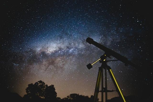 A telescope in the dark
