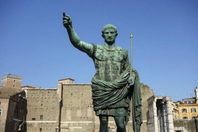 Agusutus Roman empire